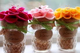 jar favors jar wildflower wedding favors hgtv