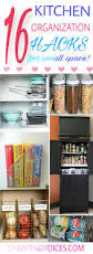 brilliant kitchen organization hacks for small space