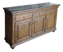 artisan u0027s shoppe dining laurent sideboard w marble top by kincaid