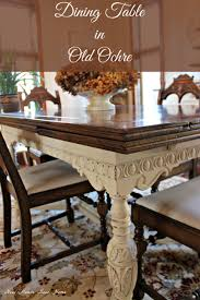 dining room table makeover ideas painted furniture dining room table update jacobean annie