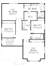 upper floor plan the falcon iii and iv new home by gertz fine homes in tualatin