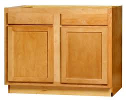 kitchen sink base cabinet menards kitchen kompact mellowood 42 x 34 5 maple sink base