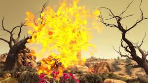 Wildfire Explosion Gif by Ark Survival Evolved Official Launch Trailer Create Discover
