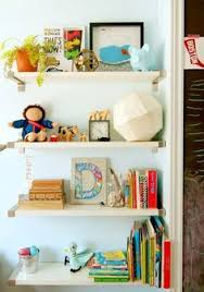 The Land Of Nod Kids Shelves Kids White Wall Book Bin In Shelf - Shelf kids room