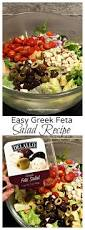 Easy Salad Recipe by Easy Greek Feta Salad Recipe Reluctant Entertainer