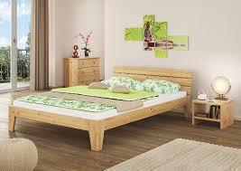 Schlafzimmer Betten Aus Holz Erst Holz 60 62 14 Futonbett Mit Rollrost 140x200 Massivholz