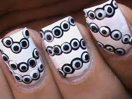Nail Art Design Black Easy Black N White Dot Nail Art Designs Youtube
