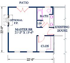 Master Bedroom Plan Addition Idea Master Suite Addition House - Master bedroom plans addition