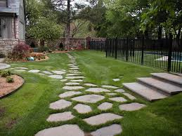 Idea For Backyard Landscaping by Backyard Landscape Hardscape Ideas In Tulsa
