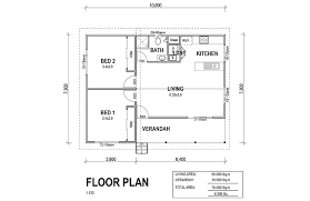Two Bedroom Granny Flat Floor Plans Flatpack Granny Flats