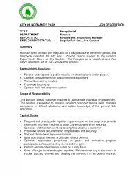 Medical Office Receptionist Resume Five Paragraph Essay And Climbing And Maricopa And Writing Bsc