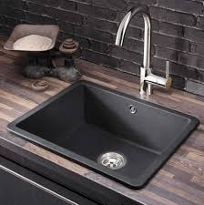 Resin Kitchen Sinks Kitchen Sink Black Stainless Trends With Beautiful Steel Pictures