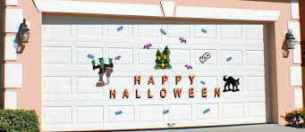 halloween garage door decorations decorations garage door