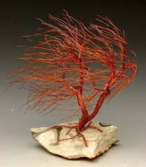 346 best wire trees bonsai sculptures images on wire