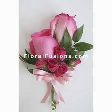 pink corsage pink roses corsage wedding flowers leicester