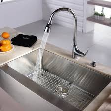 kitchen sink and faucet stainless steel kitchen sink combination kraususa