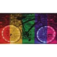 brightz bicycle lights color morphing wheelz lights set of 2 at