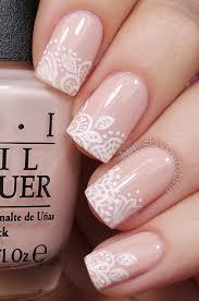40 color nail art ideas white polish nails and floral