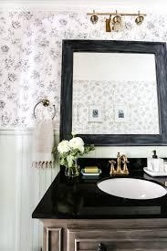aqua meets urban powder room reveal bless u0027er house