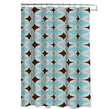 Brown Waffle Weave Shower Curtain by Interdesign Carlton Extra Long Shower Curtain In White 23080 The
