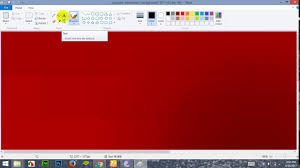 how to write text in on image in ms paint youtube