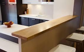 fabriquer un comptoir de cuisine en bois faire bar en bois soi même le du bois