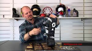 best motocross boot scott 450 motocross boot at mxmegastore youtube