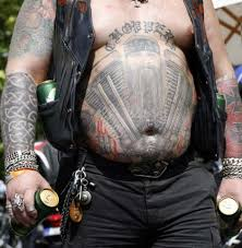 texas biker tattoo