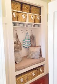 no empty chairs home improvement 3 closet to mudroom bench