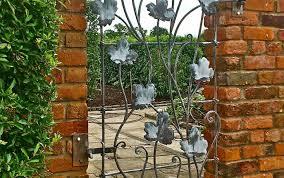 curious metal trellis with bench tags trellis metal small patio