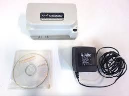 x rite color dtp41 autoscan spectrophotometer w software disc