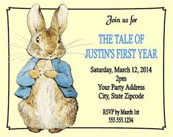 rabbit baby shower rabbit baby shower or birthday party invitations personalized