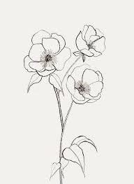tattoo flower drawings bernadette pascua pinteres