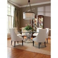 Glass Top Dining Table With Metal Base Foter - Glass dining room