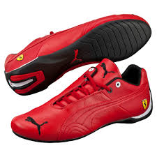 leather bike shoes puma future cat leather scuderia ferrari shoes puma on track
