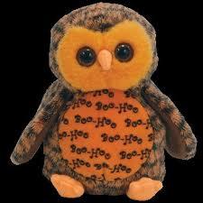 amazon ty beanie babies boo owl hallmark gold crown