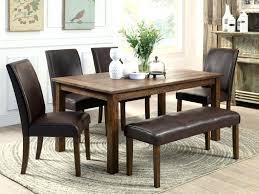 dining room tables with bench bench chairs for dining tables lesdonheures com