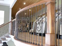 decorative stair railings with is decorative wrought iron railing