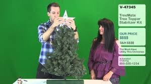 treemate tree topper stabilizer kit demo youtube
