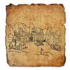 Eso Skyshards Map Craglorn Treasure Map Iv Elder Scrolls Online Wiki