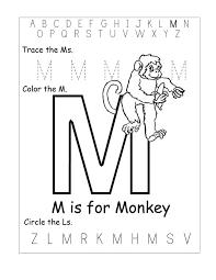 kindergarten worksheets tracing letters m m words wordsearch