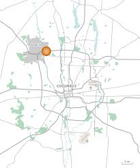 Map Of Dublin Ohio by Bridgeton Holdings Cloverleaf Suites