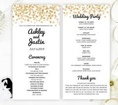 cheap wedding ceremony programs glitter wedding programs printed on shimmer card stock gold