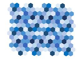 Blue Shades Free Illustration Geometric Blue Shades Shapes Free Image On