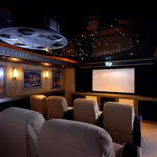 home theater decorating modern rooms colorful design fancy with