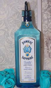 recycled blue bottle soap dispenser oil dispenser vinegar liquid