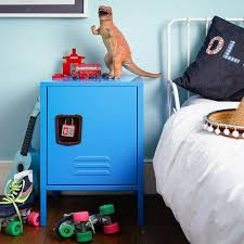 Metal Locker Nightstand Cute And Lovely Bedside Tables In 10 Kid U0027s Bedrooms Rilane