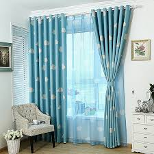 Sheer Blue Curtains Decorative Blackout Curtains 28 Images Door Window Panel