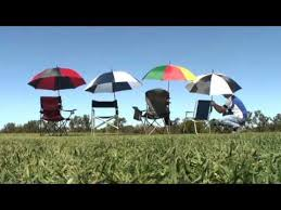 Chair Umbrellas With Clamp Byo Shade Chair Umbrella Holder Portable Shade Youtube