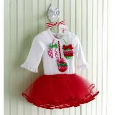 ornament tutu dress by mud pie